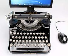 Enjoy the touch and feel of an antique typewriter while still having the modern features of a keyboard and computer with these USB typewriters.