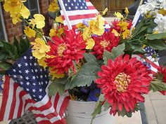 The Style Sisters: 4th of July Centerpiece ideas
