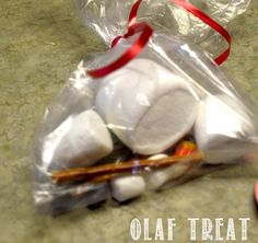 Olaf Treat - Frozen Party Idea