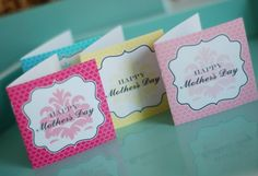 33 Free, Printable Mother's Day Cards She'll Love: Printable Mother's Day Cards 4 Ways by Anders Ruff