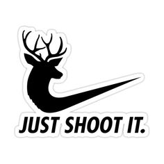 Funny Bumper Stickers, Funny Decals, Car Stickers, Car Decals, Vinyl Decals, Hunting Decal, Hunting Humor, Cool Stencils, Nike Signs