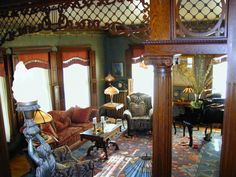 Our Parlor, This is a picture of our parlor in a 1908 Victorian home located in Uniontown md.