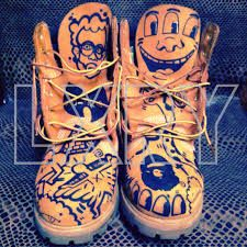 Image result for custom timberlands