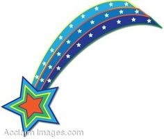 Shining Star Cartoon | Animated Shooting Star Clip Art | stars 4 ...