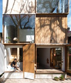 Ideas for house facade modern arquitetura Architecture Design, Residential Architecture, Amazing Architecture, Australian Architecture, Architecture Awards, Architecture Panel, Minimalist Architecture, Casas Containers, Glass Facades