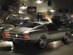 "Dream Car. 67 Mustang by Troy Trepanier for Ebay Motors. ""Fast Forward Fast Back."""