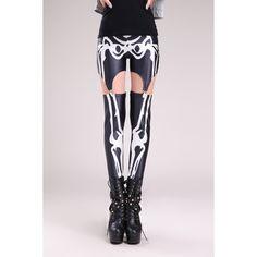 Sexy Straps Stretch bedruckte Leggings Skelett Motiv #Stretch #Straps #Leggings #Leggins #Legings #Legins #Skelett #Motiv #Motivlegging 16.90 EUR inkl. 19% MwSt. zzgl. Versand