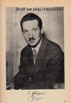 national champion of Yugoslavia. Svetozar Gligorić died in Belgrade on August 14 at the age of < Yasser Arafat, Art Through The Ages, Chess Players, Chess Pieces, Gentleman, Champion, Belgrade, Random, Flow