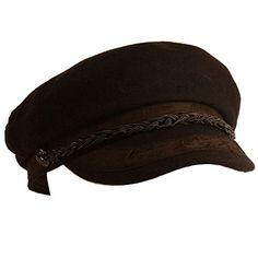 Men's Greek Fisherman Sailor Fiddler Winter Wool Driver Hat Flat Cap Brown S/M SK Hat shop http://www.amazon.com/dp/B00OGM98Z6/ref=cm_sw_r_pi_dp_6Hw7ub1A1Z5ZR