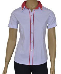 Office Uniform For Women, Womens Golf Shirts, Work Shirts, Ladies Golf, Fashion Dresses, Men Casual, Lady, Blouse, Mens Tops