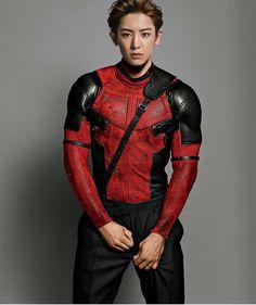 """좋아요 20.7천개, 댓글 265개 - Instagram의 박찬열 엑소 (@park.chan.yeol)님: """"Deadpool is Chanyeol  #Chanyeol #찬열 #exo #엑소"""""""