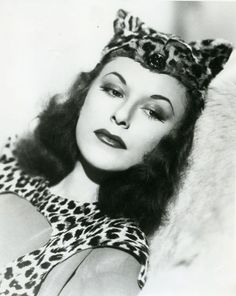 "Linda Sterling in ""The Tiger Woman"" 1944"