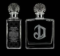 deleon tequila magically comes with my initial etched on it