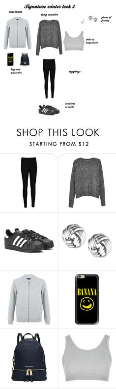 """Untitled #7"" by marymachabeli on Polyvore featuring WearAll, French Connection, adidas, Anne Klein, New Look, Casetify, MICHAEL Michael Kors, Topshop, Disney and StreetStyle"