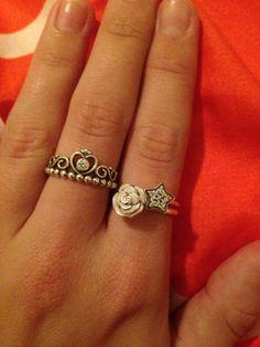 Pandora rings are just divine!  #pandora #pandoraring