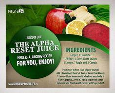 Alpha reset juice
