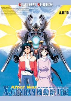 Gundam X.  That's the Double X with Garrod the pilot and Tiffa, a newtype.