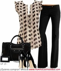 Classy Spring & Summer Work Outfit by Fashionista Trends~Add a cardigan for comfort! Casual Outfits, Cute Outfits, Work Outfits, Office Outfits, Office Attire, Office Wear, Outfits 2016, Outfit Work, Dress Casual