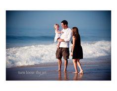 (Family)  Beach Photography