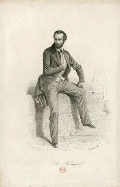 Auguste Blanqui portrait années 1840 (3)