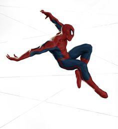 Spider-Man, Kimya Sheikh on ArtStation at https://www.artstation.com/artwork/ayP88