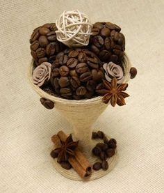 Кофейное мороженое.