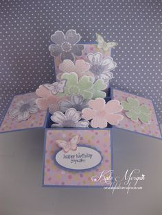 Flower Shop Explosion Box Card