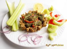 From my upcoming #cookbook Mission Raw: Celery quiche #Raw #Vegan #rawvegan #book Rawmunchies.org  #veganquiche #celeryquiche #veganceleryquiche #rawveganquiche #rawveganceleyquiche