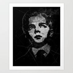 The Damned Art Print by Eric Hynynen - $25.00