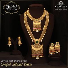 discount offer This Wedding season, Shop from Kalamandir amp; participate in Jitna Bada Luck, Utna Bada Discount offer Avail upto OFF on labour Tamp; Gold Mangalsutra Designs, Gold Earrings Designs, Necklace Designs, Gold Temple Jewellery, Gold Jewellery Design, Gold Jewelry Simple, Golden Jewelry, Cheap Jewelry, Silver Jewelry