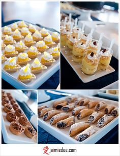 Yummy wedding food ideas!
