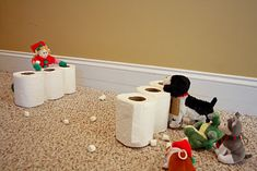 Snowball Fort Fight - Cute with the Elf on the Shelf