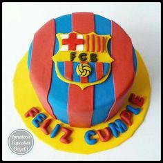 Torta Fútbol Barcelona Barça (Soccer cake)