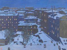 Рейнер Юрий Петрович (1911-1973) «Первые огни» 1960