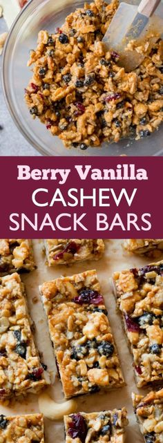 Wholesome grain free snack bars that are packed with whole, real foods. Dairy free, chewy, satisfying, and easy to make too!