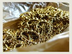 Antique gold lace passementerie trim from my family silk archives. www.etsy.com/shop/rubanesque