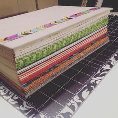 Color coded edges with Washi tape! I didn't want to do tabs because this Bible…