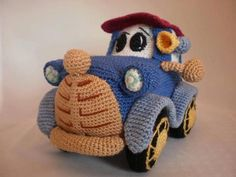Amigurumi Car