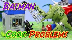 The Lego Batman Movie Superhero Steals the Ninja Turtles Legos Lair Joker Mutates Him to Killer Croc The Lego Batman Movie superhero steals the Teenage Mutant Ninja Turtles Legos lair and Joker transforms and mutates Batman into Killer Croc with Robin by ToysReviewToys. Lego Batman shows Robin the Ninja Turtles lair. Each Lego Ninja Turtle fights Batman and they get Joker to put mutagen ooze on Batman who mutates into Killer Croc and destroys the Legos. This video is made by the…