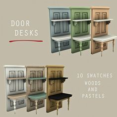 Leo Sims - Door desk for The Sims 4