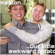 Keaton adorkableness