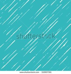 vector seamless pattern in turquoise color for your website or print in marker effect style - stock vector