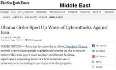 Obama ordenou ataque do Stuxnet ao Irão