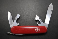 Vintage Victorinox Swiss Army knife 1970s Spartan model stamped VICTORIA by HobieonEtsy on Etsy