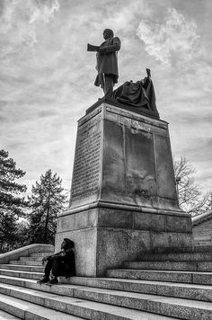 McKinley Monument in Canton! What a great photo!