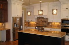 Homes by Jonathan Lee Amazing Pendant Light Kitchen