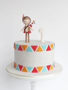 Pow-wow Cake and Cookies ▲ Bolo e Bolachas Pow-wow