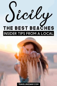 Are You Planning A Trip To Italy In Summer? Look at This Awesome List Of The Best Beaches In Sicily By A Local Female Traveler Spend The Most Incredible Summer In Sicily, Exploring The Most Underrated Part Of Italy Cool Places To Visit, Places To Travel, Travel Destinations, Italy Travel Tips, Travel Europe, Sicily Travel, Things To Do In Italy, Palermo Sicily, Italy Vacation