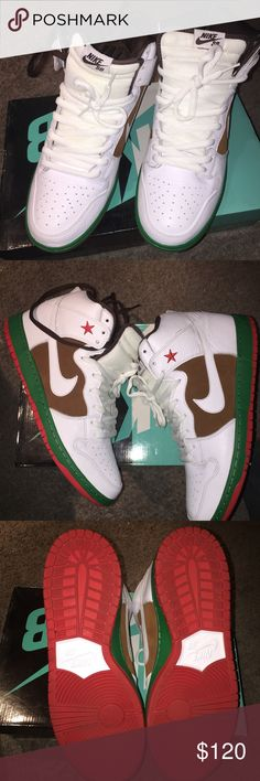 Cali SB's wore once. Cali sbs   Brand new basically. Size 13. Nike Shoes Sneakers