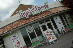 "Partyland (formally Yogurtland)     CONTRIBUTED BY LARISSA      UPDATE: As of the summer of 2011 Yogurtand was bought out and now operates under the name ""Partyland."" This is true for both the American Village and Kokusai Street venues. The concept and yogurt is still the same, just a name ..."
